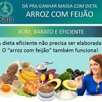 """Saúde - Dá pra Ganhar Massa com Dieta """"Arroz com Feijão"""" - Blog Rais"""