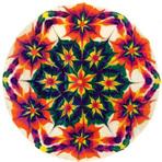 Bolos decorados com mandalas cósmicas de Stephen McCarty