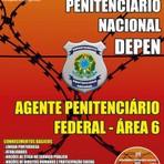 Apostila Concurso Departamento Penitenciário Nacional DEPEN 2015 para o cargo de Agente Penitenciário Federal  Área 3