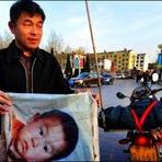 Chinês anda mais de 400.000 kms há 18 anos em busca de filho sequestrado