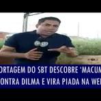 Reportagem do SBT descobre 'macumba' contra Dilma e vira piada nas redes sociais; veja vídeo