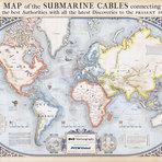 Mapa: veja todos os cabos de rede submarinos no mundo