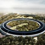 Confira as últimas filmagens da nova sede da Apple =D