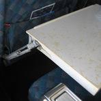As partes mais sujas de um avião