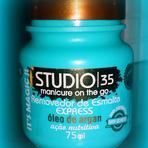 Resenha: Removedor de esmaltes Express Argan Studio 35