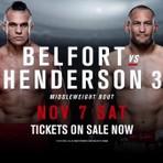 Vitor Belfort luta neste sábado em São paulo pelo  UFC Fight Night 77