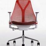 A cadeira de escritório
