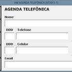 Downloads Legais - Agenda telefônica [ AT2015-1 ] - Excel - Código VBA aberto