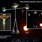 A crucificação de Jesus no alinhamento dos planetas
