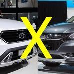 Quem é melhor Honda Hrv ou Ix35 2016