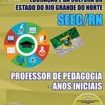 APOSTILA SEEC/RN PROFESSOR DE PEDAGOGIA - ANOS INICIAIS 2015