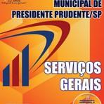 Apostila Prefeitura de Presidente Prudente SP 2015 - Grátis CD versão impressa e digital (PDF)