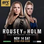 Outros - Neste sábado teremos o UFC 193 ao vivo direto da Austrália