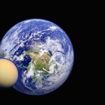 Espaço - Exoluas podem confundir sinais de vida em Exoplanetas
