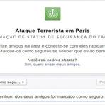 Violência - Facebook lança ferramenta que permite que usuários avisem que estão seguros na França