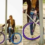 Novo protótipo de bicicleta promete método eficiente contra roubos