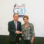 Presidenta Dilma se reúne com Secretário-geral da ONU