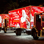 Coca-Cola traz sua tradicional Caravana de Natal ao Ilha Plaza