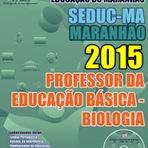 Apostila SEDUC Maranhão 2015 Professor de Biologia