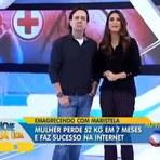 Mulher emagrece 52 kg em sete meses - DIETA