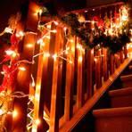 Luzes de natal garantem brilho e magia na decoração