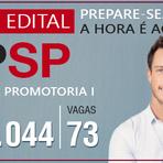 Concurso MP-SP: saiu edital para oficial de promotoria I