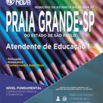 Prefeitura de Praia Grande abre concurso público