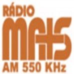 Ouvir online a  Rádio Mais AM 550 Sinop / MT - Brasil