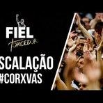 Escalação - Corinthians x Vasco - Corinthians Meu Timão