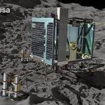 Espaço - Robô Philae da missão Rosetta faz pouso histórico em cometa