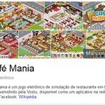 Café Mania ...Café Mania é um jogo eletrônico de simulação de restaurante