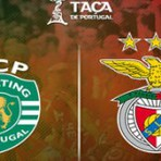 Golos Sporting 2 vs 1 Benfica – Taça de Portugal