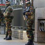 Bélgica acorda tensa na manhã desta segunda-feira