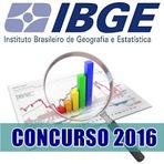 Concurso IBGE 2016 - Edital e Inscrição