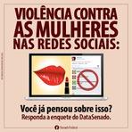 Humor - [HUMOR]:VIOLÊNCIA CONTRA AS MULHERES NAS REDES SOCIAIS (NOSSA CARTA AO SENADO FEDERAL)