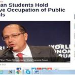 Educação - Imprensa internacional destaca ocupações das escolas contra a reorganização
