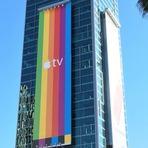Tecnologia & Ciência - Campanha de publicidade ao ar livre para a Apple TV