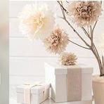 Arquitetura e decoração - DIY: Flores Natalinas em Papel