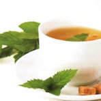 Saúde - Receita de Suco de Chá Verde com Morango para Emagrecer