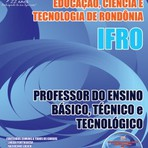 Concursos Públicos - Apostila IFRO 2015-Professor do Ensino Básico, Técnico e Tecnológico