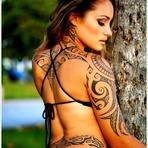 As melhores tatuagens maori para mulheres