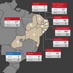 Utilidade Pública - Veja o mapa do surto de microcefalia em bebês no Brasil.