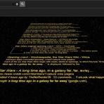 Opinião e Notícias - Google faz página em homenagem à abertura de 'Star Wars'