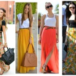 Moda & Beleza - Saias longas