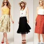 Moda & Beleza - Charme e sofisticação! Confira as saias midi e arrase no próximo verão