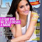 Celebridades - Ana Brenda Contreras é capa de revista mexicana