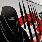 Opinião e Notícias - Usar burqa na Suíça pode dar multa de 9 mil euros
