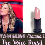 Moda & Beleza - Descubra o batom nude de Claudia Leitte no programa The Voice Brasil
