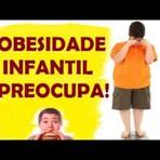 Saúde - Obesidade Infantil Preocupa