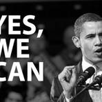 """Os Estados Unidos se """"unirem"""" para o 1° presidente negro."""